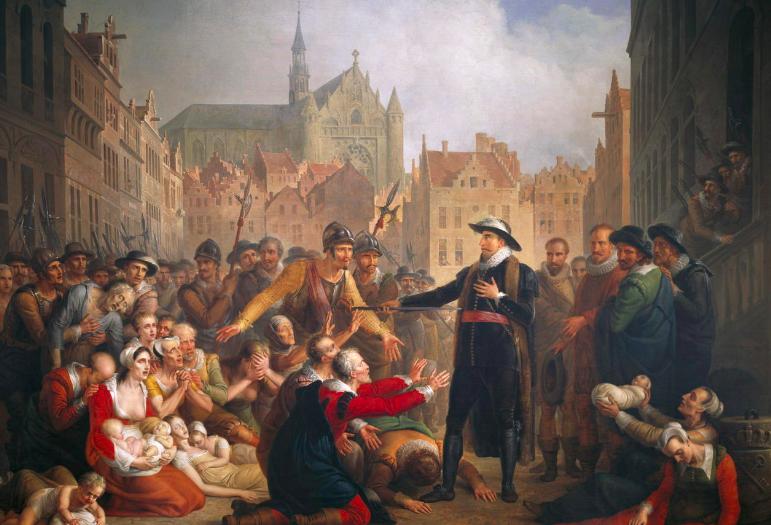 Leidens-ontzet-arm-van-der-werf-museum-de-lakenhal